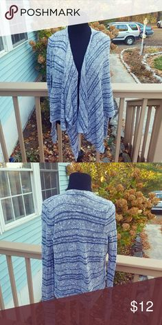 Hollister Knitted Multi Colored Cardigan Size XS. In excellent condition. Hollister Sweaters Cardigans