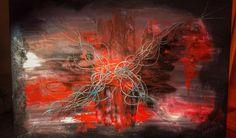 Abstract acrylic Painting #abstract #followme #mypainting #acrylic #abstractacrylic #MyFirstPainting