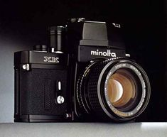 If there was ever such a camera that could be called a tank, this was it. The Minolta XK. Gonna have to get my hands on this one day.