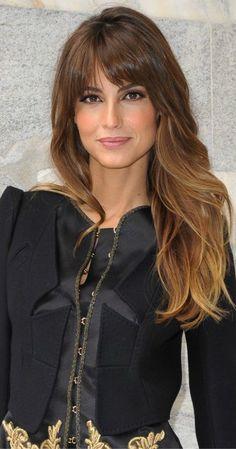 Beautiful bangs, Elegance