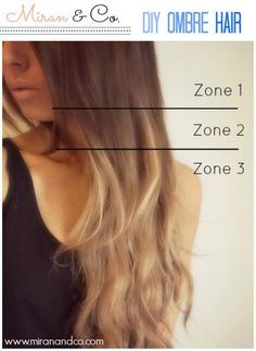 DIY ombre hair tutorial