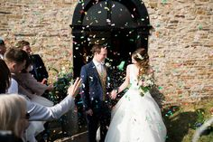 Bride and Groom at a Simple, Elegant and Quintessentially English Wedding | Photography by http://www.bytomw.com/