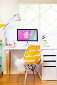 DIY IKEA Desk Hack @LovelyIndeed
