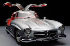 Mercedes 300Sl poster Metal Sign Wall Art 8in x 12in
