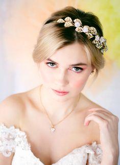 Spring Bridal Photoshoot Bridal Makeup For Blondes, Bridal Photoshoot, Wordpress Theme, Crown, Spring, Beauty, Fashion, Moda, Corona