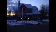 50,000 Christmas Lights Synced to John Lennon's So This is Christmas (2010)