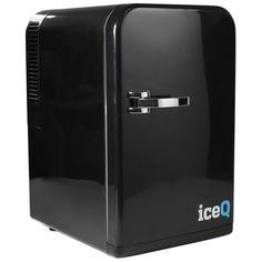 iceQ 15 Litre Deluxe Portable Mini Fridge - Black - Mini Fridges - Small…