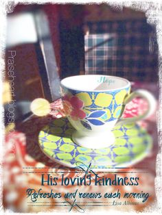 Join our free, daily, creative Bible Study through the Book of Proverbs!!!  His Loving Kindness