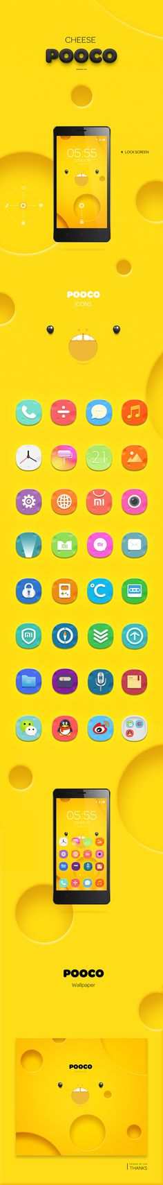miui design , do you like cheese pooco? on App Design Served