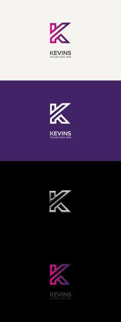Letter K Logo. Logo Templates. $30.00