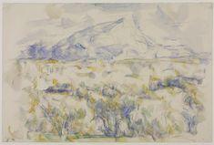Paul Cézanne, 'Montagne Sainte Victoire' 1905–6