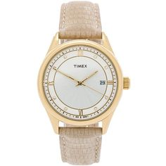 Timex Casual Dress Watch Accessories (215 MYR) ❤ liked on Polyvore