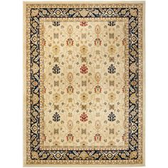 Inspired by intricate Oriental design and dense, thick pile highlight this rug. This rug combines great styling and comfort with a durable powerloomed construction making this ultra low shedding rug easy to maintain.