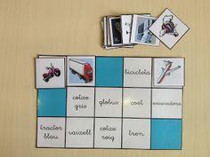 Associar imatge i paraula Lectures, Bingo, Language, Teaching, Photo And Video, Games, School, Valencia, Ideas