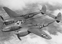 The P-38 was an American aircraft that flew in World War II.