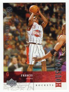 Steve Francis # 103 - 2002-03 Upper Deck Superstars Multi Sports Card - NBA Basketball