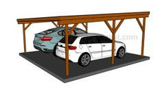 Carport | HowToSpecialist - How to Build, Step by Step DIY Plans