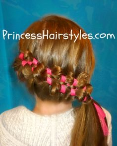 Sidewinder ribbon braid with stretched strands