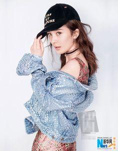 Actress Yang Mi releases fashion shots   China Entertainment News
