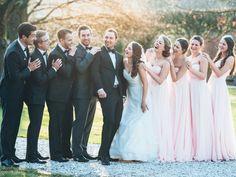 Gruppenbild, Brautjungfern, Wedding, group