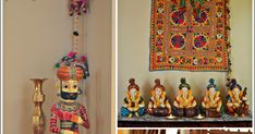 Traditionally-Desi (Home tour of Shweta Pandya) Indian Room Decor, Indian Art, House Tours, Handmade Items, Color, Collection, Design, Home Decor, Indian Artwork