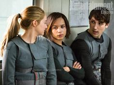 Tris, Christina, and Will