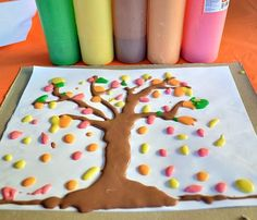 Really Easy FUN activity to do with children at home or in a childcare facility.