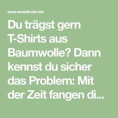 Du trägst gern T-Shirts aus Baumwolle? Dann kennst du sicher das Problem: Mit der Zeit fangen die T-Shirts schnell an, unangenehm nach Schweiß zu riechen, besonders unter den Achseln.