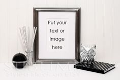 Styled Stock Photography / Blank Frame / by SUBLIMEstyledstock