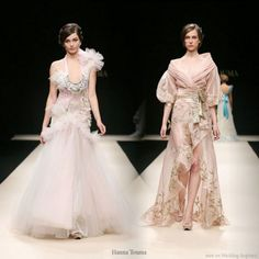 Lovely Beautiful Dresses Design from Hanna Touma | Wedding Inspiration Trends
