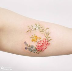 Floral piece by Silo