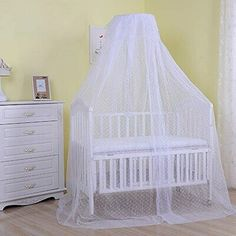 Baby Infant Toddler Bed Dome Cots Mosquito Netting Hanging Bed Net Mosquito Bar Frame Palace-Style Crib Bedding Set(Mosquito Netting Only, Without Sta Bed Net, Infant Toddler, Toddler Bed, Good Environment, Mosquito Net, Crib Bedding Sets, Baby Safety, Baby Cribs, Baby Sleep
