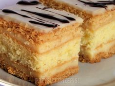 Polish Recipes, Pie Recipes, Baking Recipes, Dessert Recipes, Easy Blueberry Muffins, First Communion Cakes, Sandwich Cake, Recipes From Heaven, Cakes And More
