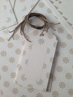 Tarjetas de SweetCo para mesero, regalos, detalles o para escribir los deseos para 2014 y colgarlos del árbol