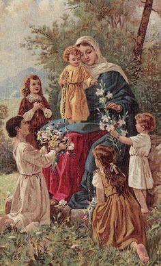 †  Livros Católicos para Download: O mês de Maria é um mês consagrado a meditar os pr...