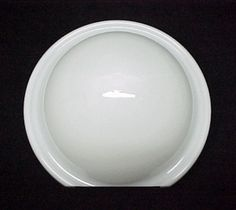 Art Deco White Glass Round Wall Sconce Light Shade. Ideal for Wall Light Fixtures for Bathroom, Kitchen, Office, Laundry, Hallway or Commercial Buildings. Bathroom Wall Sconces, Candle Wall Sconces, Wall Sconce Lighting, Bathroom Light Shades, Ceiling Diffuser, Cobalt Glass, Bathroom Light Fixtures, Kitchen Office, Crackle Glass