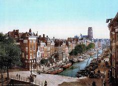 Maak kennis met Rotterdam (kleurenfoto's) van voor de Eerste Wereldoorlog.