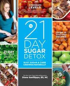 Introducing The 21-Day Sugar Detox – IN PRINT!