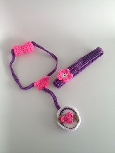 Doc Mcstuffin's Crochet Headband and Stethoscope by WithLovebySim, $30.00