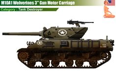 "M10A1 Wolverines 3"" Gun Motor Carriage"