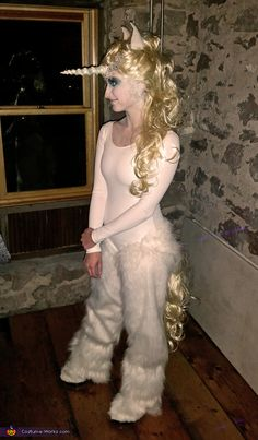 Diy unicorn costume 2018 diy halloween costume ideas pinterest sharon i have always had unicorn on my to do list of desired halloween costumes solutioingenieria Choice Image