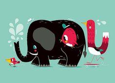 Alive Illustrations by Christian Lindemann