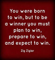 God created winners!