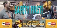 Safety First! Aiken Controls - My Dad's Garage - A Kid's DIY Show on Tools