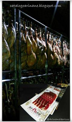 Jamones y embutidos ibéricos Ariñane  catalogoarinane.blogspot.com