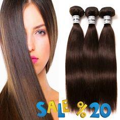 Brazilian straight hair remy hair