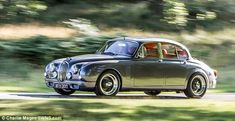 Jaguar designer transforms classic 1962 Mark 2 saloon into a motor fit for the 21st-Century with every gadget going