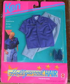 1992 Ken - Hollywoood Hair #