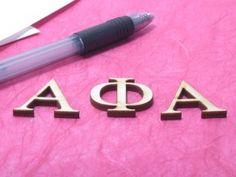 Find unpainted greek letters here ! Great for big/little week!!!!