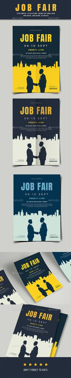 #Job #Fair Flyer 03